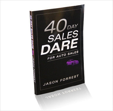 40 Day Sales Dare for Auto Sales
