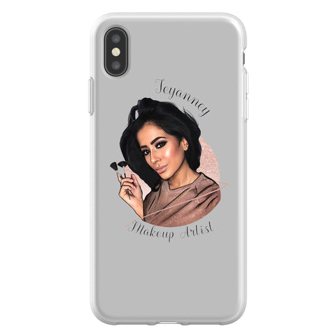Alex Hardy Portrait iPhone XS Max Flex Case
