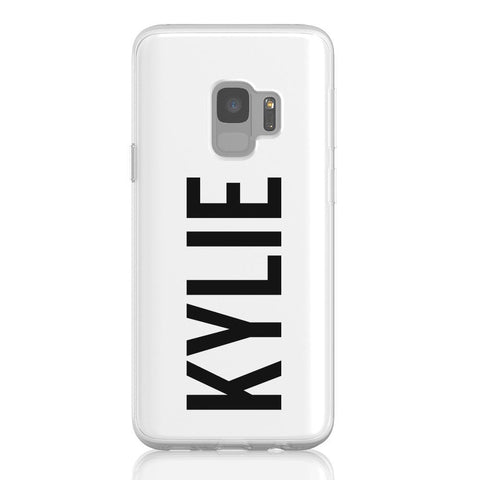 Personalised Name Samsung Galaxy S9 Flex Case