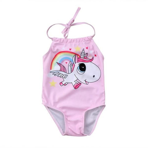 Unicorn Rainbow Bathing Suit