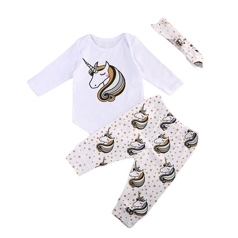 Britney Unicorn Clothing Set