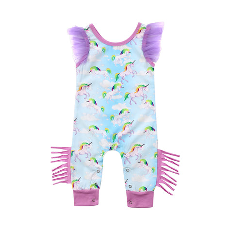 Unicorn Tassel Jumpsuit