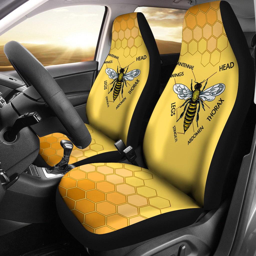 Honey Bee Car Seat Covers Groove Bags