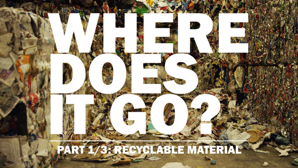 WHERE DOES IT GO? PART 1: RECYCLING