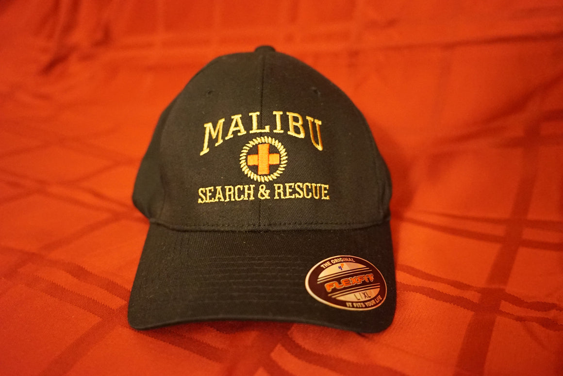 Malibu Search and Rescue Hat- Flex Fit LARGE