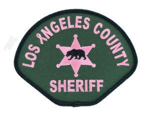 2019 LOS ANGELES COUNTY SHERIFF PINK PATCH #pinkpatchproject