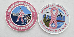 PinkPatchProject Malibu Search and Rescue Challenge Coin