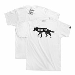 Dirt Co. Coyote T-Shirt (White)