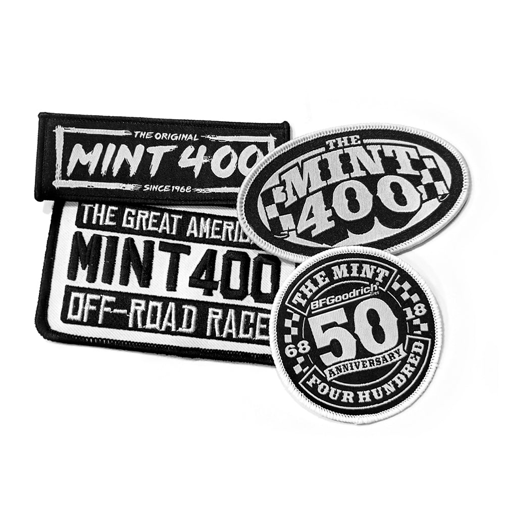 Mint 400 Patch (4 Pack)