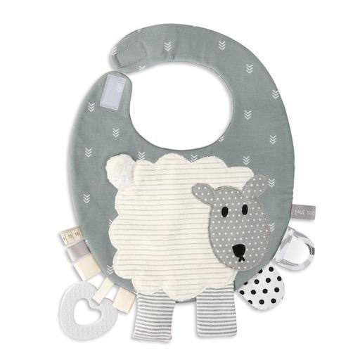 Mommy & Me Activity Bib Lamb