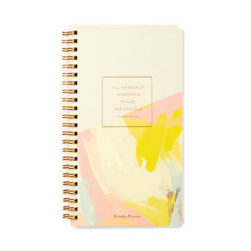 """...All Manner Of Wondrous Things Are Possible..."" Weekly Planner"