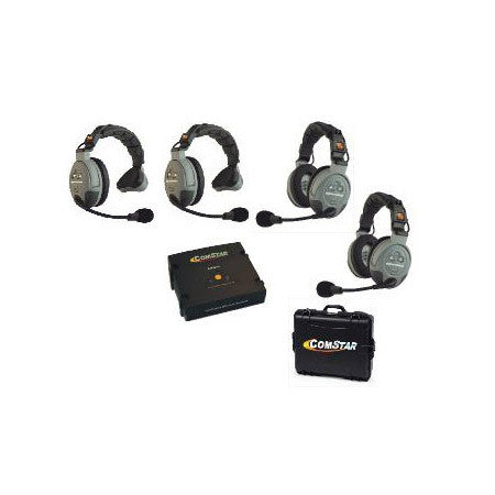Eartec Comstar XT-4 Complete 4 Person System