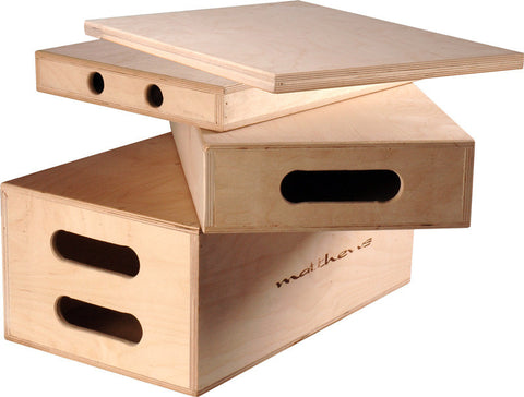Matthews Normal Duty Quarter Apple Box - 2inH x 12inW x 20inL