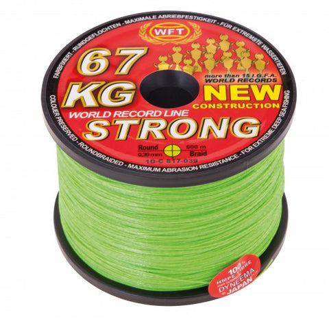 WFT STRONG BRAID 600M - 15KG 0.12MM