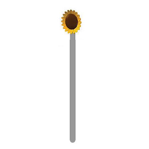 Metalmorphose Bookmark Sunflower Dark