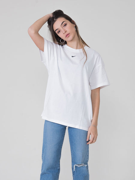 T-shirt loose fit bianca