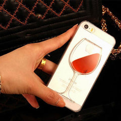 Wine Glass iPhone Case - TopTier Shop Unique Fun Trending Gifts Hot Items Shopping iPhone Accessories