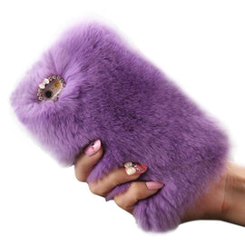 Fluffy iPhone Cover - TopTier Shop Unique Fun Trending Gifts Hot Items Shopping Phone Accessories