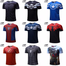 Superhero Fitness T-Shirts - TopTier Shop Unique Fun Trending Gifts Hot Items Shopping gym