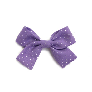 Jane Bow - Amethyst Dot