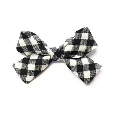 Jane Bow - B&W Gingham