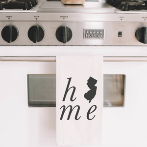 Personalized Home State Tea Towel