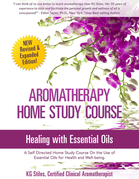 Aromatherapy Home Study Course - Master the Art & Science of Healing Using Essential Oils - ON SALE 50% OFF! - KG Stiles, Instructor-Bundle-PurePlant Essentials