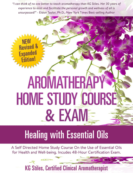 Aromatherapy Home Study Course Certification & Exam - Master the Art & Science of Healing Using Essential Oils - ON SALE 40% OFF! - KG Stiles, Instructor-Bundle-PurePlant Essentials