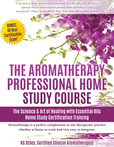 8-Week Aromatherapy Multimedia Course - Master the Art & Science of Healing Using Essential Oils - Instructor, KG Stiles, BA, LMT, CBP, CBT - ON SALE 50% OFF!-Bundle-PurePlant Essentials