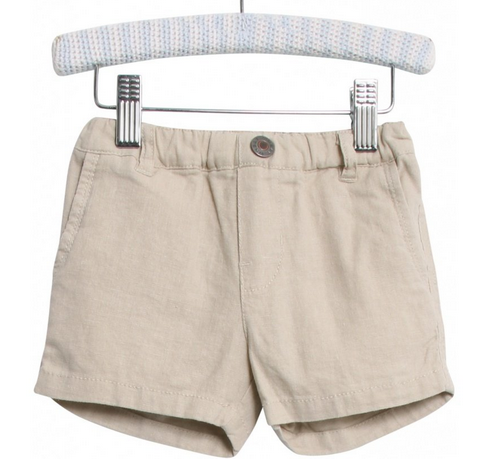 Wheat Clothing Brand Vilfred Shorts in Sand Little Birdies Boutique
