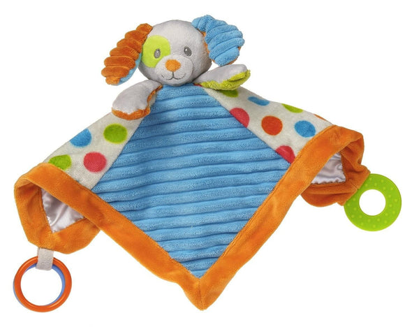 Mary Meyer Confetti Puppy Activity Blanket Toy Stuffed Animal - JEN'S KIDS BOUTIQUE