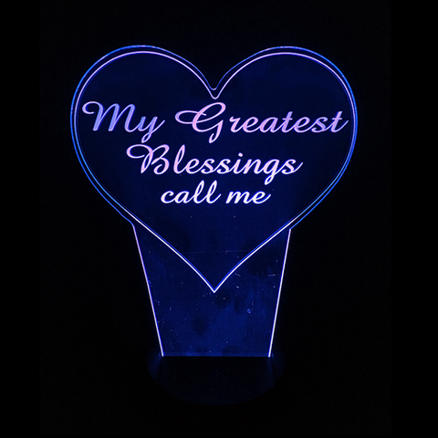 Personalized Blessings