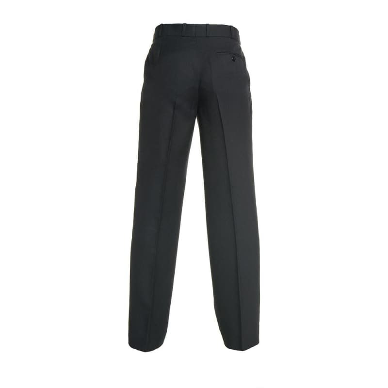 Black<Br>Boys Extendable Waist College Trouser - Black College Trouser