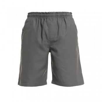 Grey <Br>Boys Elastic Shorts - Grey Elastic Shorts