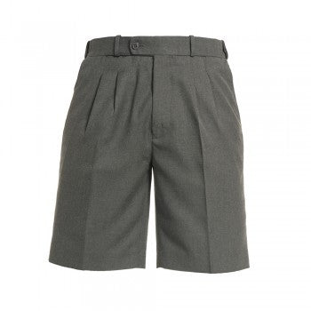 Mid Grey <Br>Boys College Shorts - Mid Grey College Shorts