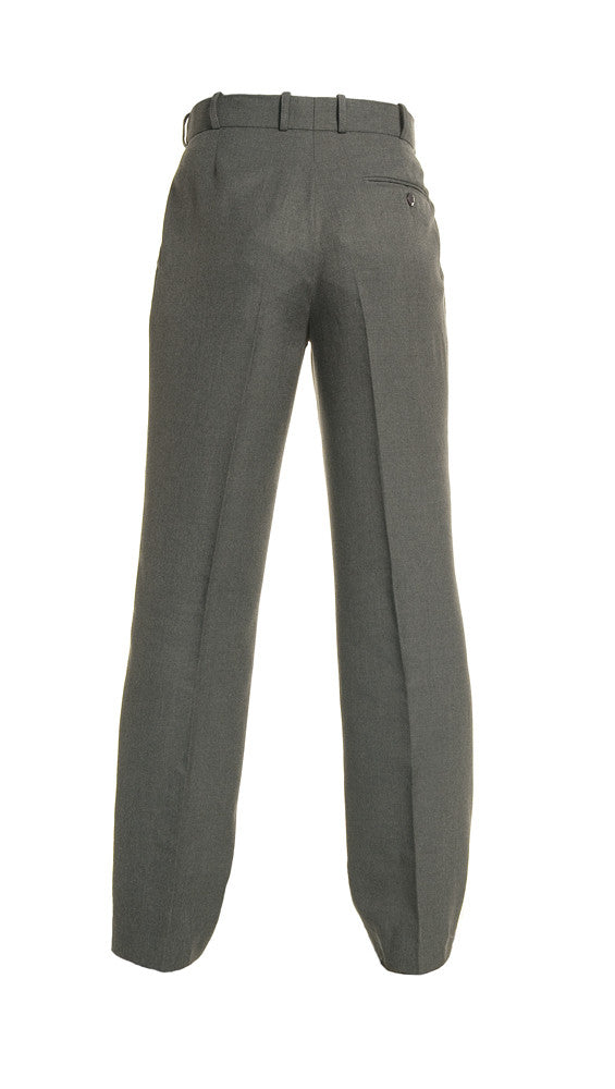 Mid Grey<Br>Boys Extendable Waist College Trouser - Mid Grey College Trouser