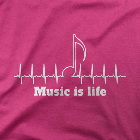 Music is life - CD Universe Apparel