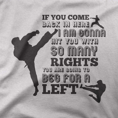 Chuck Norris - Left or right? - CD Universe Apparel