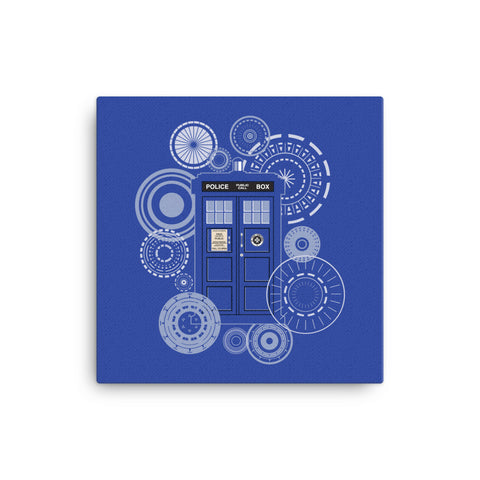 Dr. Who Tardis Canvas - CD Universe Apparel