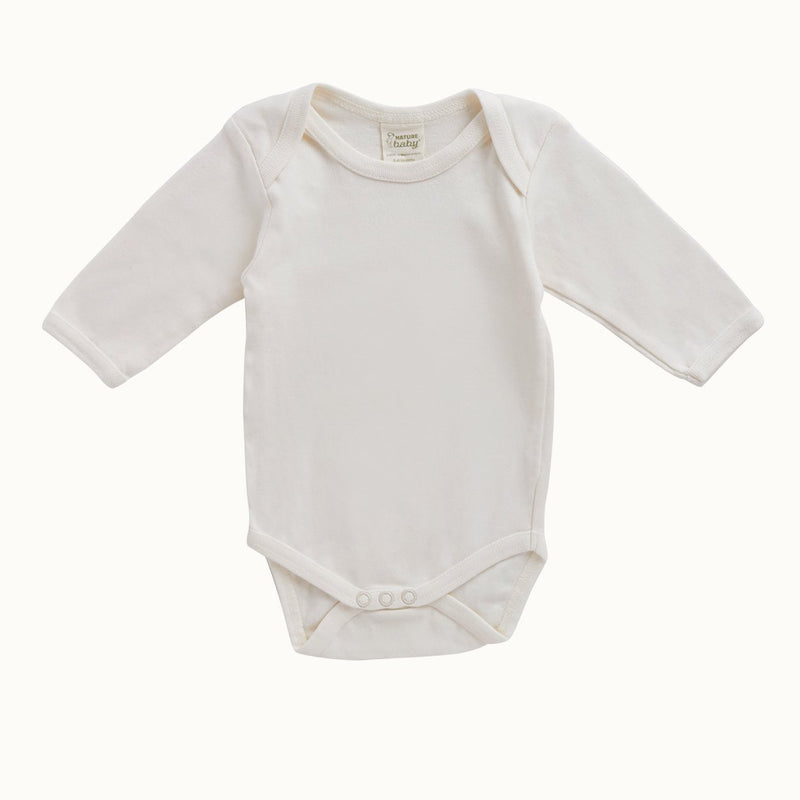 Nature Baby | Cotton Long Sleeve Bodysuit