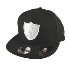 New Era 9FIFTY (Youth) - Monochrome Perf - Oakland Raiders - Cap City