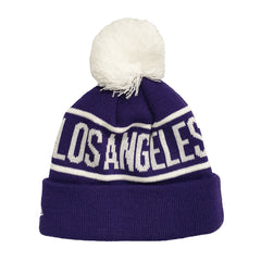 NEW ERA (Youth) - NBA Knits on Fire Beanie - Los Angeles Lakers