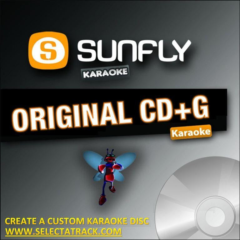 Sunfly Karaoke CDG Disc SF808 - MOST WANTED
