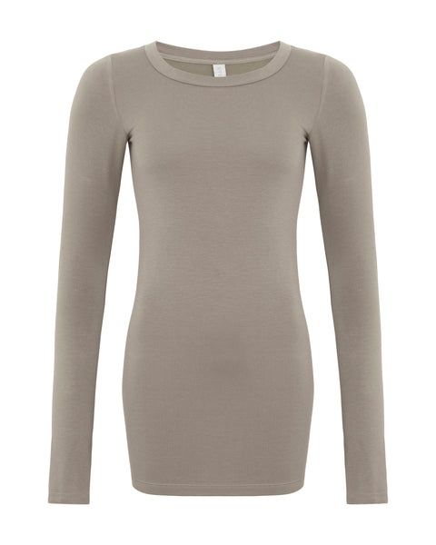Amore Long Sleeve Taupe