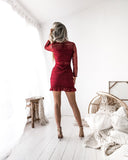 RIVERDALE DRESS - RED