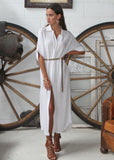 INDRA DRESS - WHITE