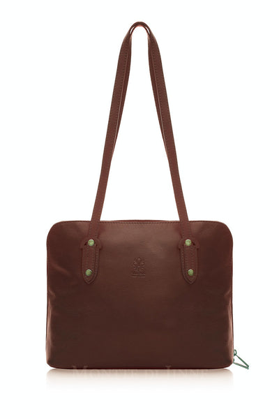 Ladies Soft Finish Vintage Style Tote Bag