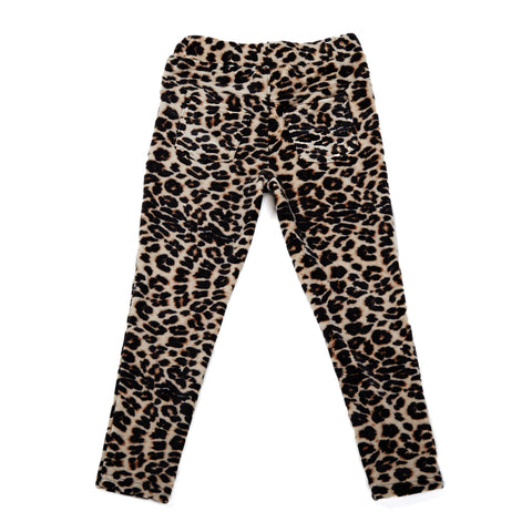 Furry Cheetah Legging