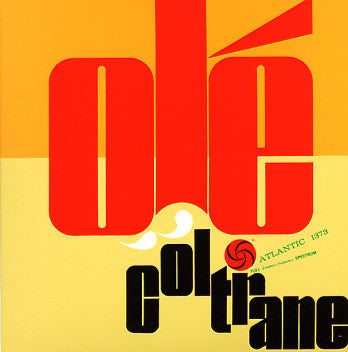 John Coltrane ‎– Olé Coltrane - VG USA Mono 1961 Original Press (Purple / Red Label) - Jazz - B17-079
