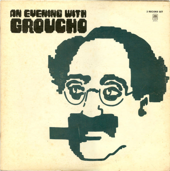Groucho Marx ‎– An Evening With Groucho - VG+ 2 Lp Record 1973 USA Original Vinyl - Comedy